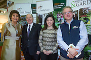 NO FEE PICTURES<br /> 23/1/16 Minister for Tourism Michael Ring and Maureen Ledwith, organiser of the Holiday World Show at the Into Kildare stand at the Holiday World Show at the RDS in Dublin. Picture: Arthur Carron