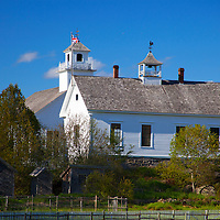 North America, Canada, Nova Scotia, Sherbrooke. Sherbrooke Village, an open air museum in Guysborough.