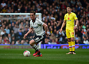 Fulham Midfielder Scott Parker (8) during the Sky Bet Championship match between Fulham and Milton Keynes Dons at Craven Cottage, London, England on 2 April 2016. Photo by Jon Bromley.
