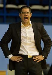 Sasa Nikitovic trener kosarkasa Crvene zvezde na utakmici prvenstva Srbije protiv Mega Vizure u hali Sportova <br /> 12.04.2011. godine<br /> Foto: Marko Metlas / Sportida