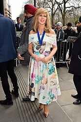 © Licensed to London News Pictures. 08/03/2016. KATE GARRAWAY arrives for the TRIC Awards. The Television and Radio Industries Club's annual awards ceremony, honour's the best performers and programmes  of the last year .London, UK. Photo credit: Ray Tang/LNP