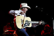 Tribune Photo/SANTIAGO FLORES Tracy Lawrence performs on Friday night at the St. Joseph 4H County Fair.