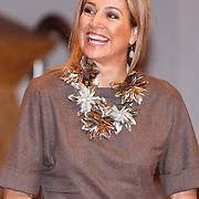 "NLD/Amsterdam/20160330 - Koningin Maxima aanwezig bij het symposium ""Muziekeducatie doen we Samen"", Koning Maxima"