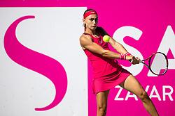 PORTOROZ, SLOVENIA - SEPTEMBER 17: Aleksandra Krunic of Serbia competes during the 3rd Round of WTA 250 Zavarovalnica Sava Portoroz at SRC Marina, on September 17, 2021 in Portoroz / Portorose, Slovenia. Photo by Matic Klansek Velej / Sportida