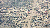 This aerial photograph of Black Rock City was shot on the morning of Friday August 31st, 2018 during Burning Man 2018. The pilot of the aircraft was Purple Haze. My Burning Man 2018 Photos:<br />