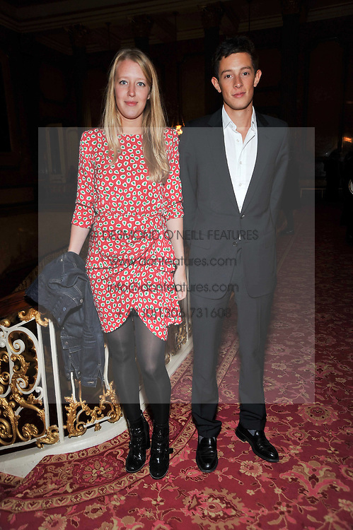 ALICE ROTHSCHILD and brother JAMES ROTHSCHILD at a party to celebrate 300 years of Tatler magazine held at Lancaster House, London on 14th October 2009.