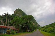 Road to Puerto Esperanza, San Vicente, near Vinales, Pinar del Rio, Cuba.