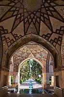 Iran, Province d'Ispahan, Kashan, Bagh-e-Fin, jardin Perse inscrit au patrimoine de l'UNESCO // Iran, Isfahan province, Kashan city, Bagh-e-Fin, persain garden, world heritage of the UNESCO