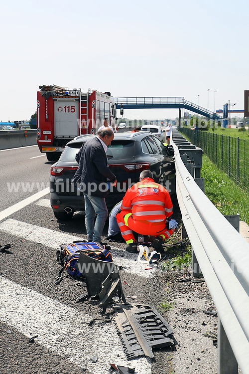 INCIDENTE TAMPONAMENTO AUTOSTRADA AUTOGRILL PO OVEST PONTELAGOSCURO