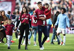 West Ham United's Fabian Balbuena during an end of season lap of honour