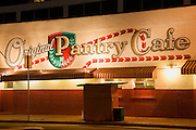 The Original Pantry Cafe, Downtown Los Angeles, California.