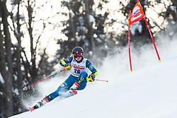 Nina O Brien (USA) during the Ladies' Giant Slalom at 57th Golden Fox event at Audi FIS Ski World Cup 2020/21, on January 17, 2021 in Podkoren, Kranjska Gora, Slovenia. Photo by Vid Ponikvar / Sportida