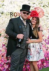 Racegoers arriving for day two of Royal Ascot at Ascot Racecourse.