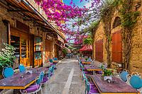 restaurants of Old Souk Byblos Jbeil in Lebanon Middle east