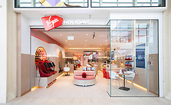 EDITORIAL USE ONLY<br /> A general view of the new Virgin Holidays flagship v-room store, which becomes the first travel shop to feature personalised spa treatments at centre:mk in Milton Keynes.