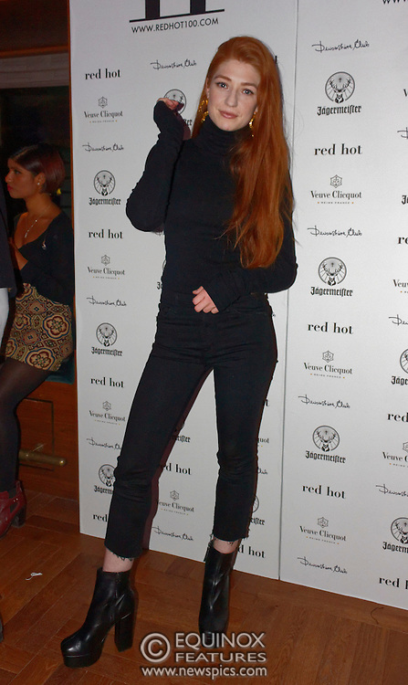 London, United Kingdom - 14 October 2016<br /> Ginger haired Girls Aloud singer Nicola Roberts who modelled for the book. The launch of Red Hot II book, a photographic project by photographer Thomas Knights and creative director Elliott James Frieze celebrating red-heads in support of Diana anti-bullying charity, Devonshire Club, London, England, UK.<br /> www.newspics.com/#!/contact<br /> (photo by: EQUINOXFEATURES.COM)<br /> Picture Data:<br /> Photographer: Equinox Features<br /> Copyright: ©2016 Equinox Licensing Ltd. +448700 780000<br /> Contact: Equinox Features<br /> Date Taken: 20161014<br /> Time Taken: 21305265<br /> www.newspics.com