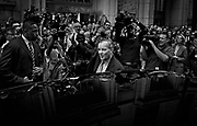 Richard M. Daley leaves City Hall for the final time as mayor of Chicago on Friday, May 13, 2011.