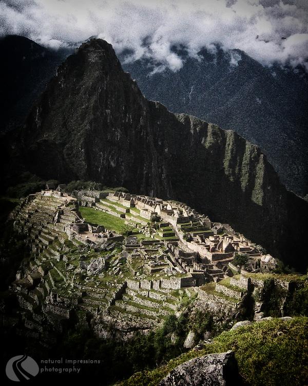 Machu Picchu, World Heritage Site, Peru,
