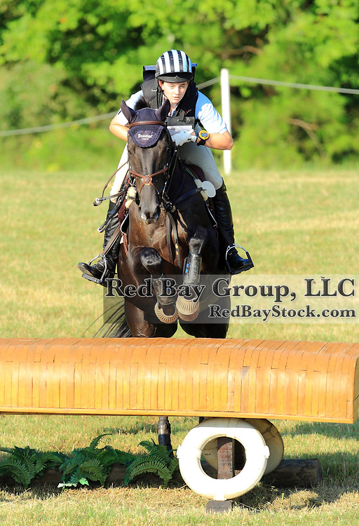 Lizzie Snow and Coal Creek at the 2011 Poplar Place September Horse Trials in Hamilton, Georgia.