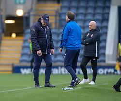 Raith Rovers manager John McGlynn. Raith Rovers 0 v 1 Arbroath. Scottish Football League Division One game played 16/2/2109 at Stark's Park.
