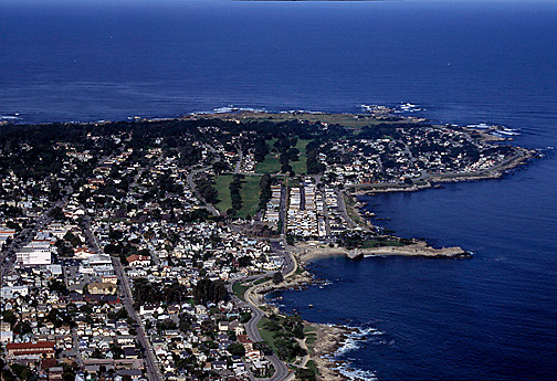 Pacific Grove Area looking north