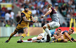 Ryan Edwards of Bristol Rugby carries the ball - Mandatory by-line: Robbie Stephenson/JMP - 03/09/2016 - RUGBY - Twickenham - London, England - Harlequins v Bristol Rugby - Aviva Premiership London Double Header