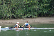 Linz, Austria, Sunday,  1st Sept 2019, FISA World Rowing Championship, Sunday Finals Day  [Mandatory Credit; Peter SPURRIER/Intersport Images]<br /> <br /> 13:48:27  01/09/2019