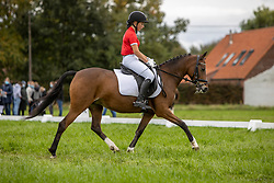 Kleeren Yara, BEL, Bohemian Rhapsody<br /> Nationaal Kampioenschap LRV <br /> Ponies Dressuur - Oudenaarde 2020<br /> © Hippo Foto - Dirk Caremans<br /> 03/10/2020