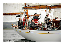 Day one of the Fife Regatta, Round Cumbraes Race.<br /> Latifa, 8, Mario Pirri, ITA, Bermudan Yawl, Wm Fife 3rd, 1936<br /> <br /> <br /> * The William Fife designed Yachts return to the birthplace of these historic yachts, the Scotland's pre-eminent yacht designer and builder for the 4th Fife Regatta on the Clyde 28th June–5th July 2013<br /> <br /> More information is available on the website: www.fiferegatta.com