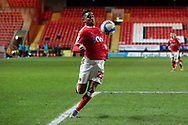 Charlton's Ian Maatsen during the EFL Sky Bet League 1 match between Charlton Athletic and Rochdale at The Valley, London, England on 12 January 2021.