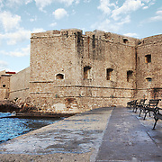 """Built in the 14th century, the St. John Fortress of Dubrovnik, Croatia, protected and controlled access to the harbor in southeast section of the old city.<br /> <br /> Dubrovnik serves as the official setting of """"King's Landing"""" from the popular TV show """"Game of Thrones""""."""