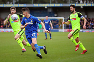 AFC Wimbledon midfielder Callum Reilly (33) chasing through ball during the EFL Sky Bet League 1 match between AFC Wimbledon and Bolton Wanderers at the Cherry Red Records Stadium, Kingston, England on 7 March 2020.