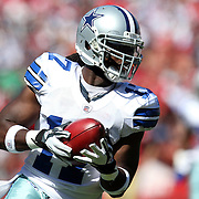 Dallas Cowboys receiver Dwayne Harris during an NFL football game between the Dallas Cowboys and the San Francisco 49ers at Candlestick Park on Sunday, Sept. 18, 2011 in San Francisco, CA.   (Photo/Alex Menendez)