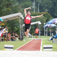 B Division Boys Long Jump