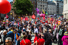 2017-07-01 Thousands march against Tories in London