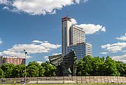 Wieżowiec Altus w Katowicach, Polska<br /> Altus tower block in Katowice, Poland