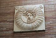 Jupiter Ammon head, Museo Nacional de Arte Romano, national museum of Roman art, Merida, Extremadura, Spain
