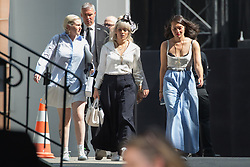 Lily Allen arriving at Chanel fashion show during Paris Haute Couture Fall Winter 2018/2019 in Paris, France on July 03, 2018. Photo by Nasser Berzane/ABACAPRESS.COM