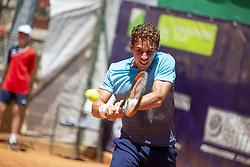 June 21, 2018 - L'Aquila, Italy - Roberto Carballés Baena during match between Roberto Carballés Baena (ESP) and Daniel Elahi GALAN (COL) during day 6 at the Internazionali di Tennis Città dell'Aquila (ATP Challenger L'Aquila) in L'Aquila, Italy, on June 20, 2018. (Credit Image: © Manuel Romano/NurPhoto via ZUMA Press)