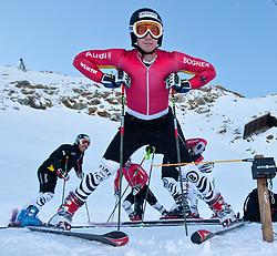 04.10.2010, Rettenbachferner, Soelden, AUT, Medientag des Deutschen Skiverband 2010, im Bild Felix Neureuther. EXPA Pictures © 2010, PhotoCredit: EXPA/ J. Groder