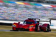 January 5-7, 2018. IMSA Weathertech Series ROAR before 24 test. 55 Mazda Team Joest, Mazda DPi, Jonathan Bomarito, Spencer Pigot, Harry Tincknell