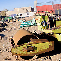 103012       Cable Hoover<br /> <br /> The site of the new Magistrate Court is under construction in Gallup Tuesday.