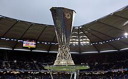 FUSSBALL: Europa League, Finale, Club Atletico de Madrid  - FC Fulham, Hamburg, 12.05.2010<br /> Pokall, Illustration<br /> © pixathlon