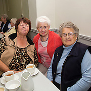 01.10.14            <br /> The Limerick City Community Safety Partnership will host a Safety Information Day for Older People. The event will feature important personal and home safety information for older people. Nutritional advice, occupational therapy, and care and repair demonstrations will also be provided. Advice and literature on a range of issues will be provided on the day by agencies including An Garda Síochána, Limerick City and County Council, Home Instead Senior Care, Limerick Fire and Rescue Service and the HSE. <br /> Attending the event at St. Johns Pavilion were, Teresa Browne, Eileen Quinn and Mrs. Boyle, Holy Family Parish. Picture: Alan Place.