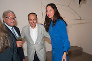 GUY NAGGAR; SIMON SALAMA-CARO; PILAR ORDOVAS, Pilar Ordovas hosts a Summer Party in celebration of Calder in India, Ordovas, 25 Savile Row, London 20 June 2012