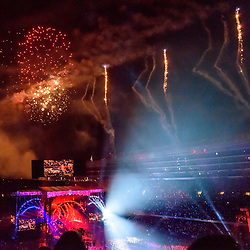 Grateful Dead Concert at Chicago's Soldier Field. 4 July 2015.