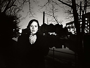 British writer Ann Bilson in London.