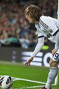 Luka Modric corner kick