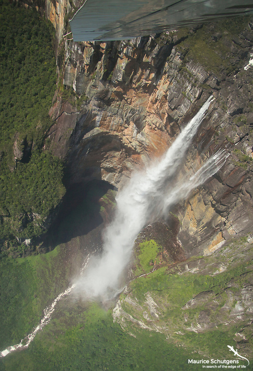 Soaring over the spectacular Angel Falls, Venezuela!