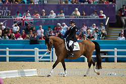 Gowanlock Ashley (CAN) - Maile<br /> Individual Championship Test  - Grade Ib <br /> London 2012 Paralympic Games<br /> © Hippo Foto - Jon Stroud